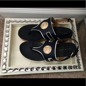 Tommy Hilfiger platform sandals with ankle strap